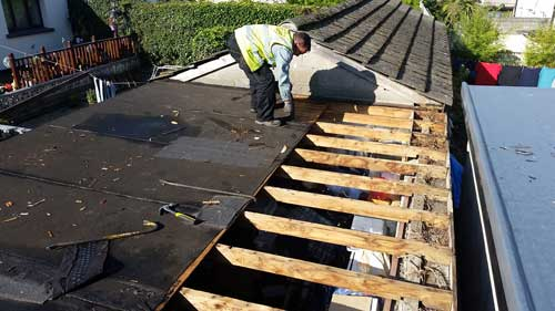 flat roofing replacement in Dublin