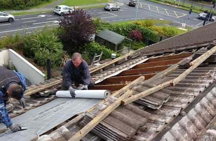 roof repairs Dun Laoghaire