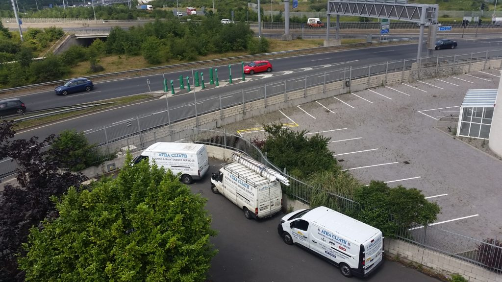 Atha Cliath Roof Repair vans