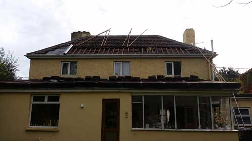 roof repairs in Dublin